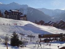 Peisey Vallandry ski area, Les Arcs, France