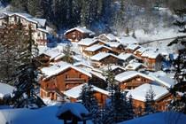 La Tania ski area, France