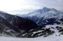 La Thuile ski area, Italy