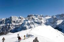 Madonna di Campiglio ski area, Italy