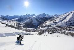 Les Sybelles ski area, France - Photo: Patrick SCHLATTER - ARVAN PHOTO