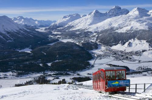 St Moritz, Switzerland, Top 5 late season ski resorts - Switzerland