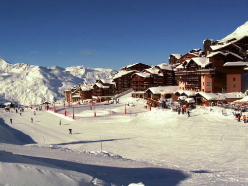Val Thorens, best late season ski resorts France