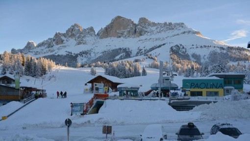 Carezza, Dolomites, Italy - Season progress report, 6 January 2014