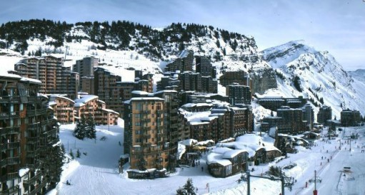 Avoriaz, France - Season progress report, 6 January 2014