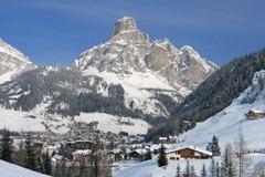 Corvara ski area, Italy