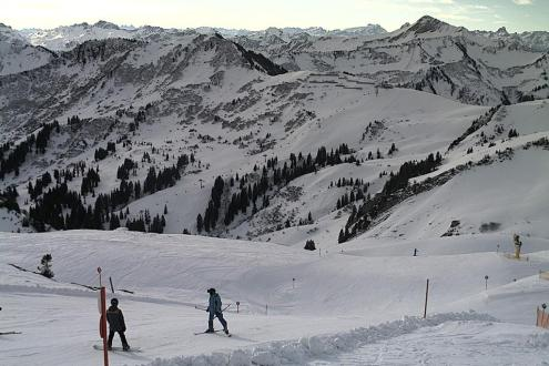 Warth-Schröcken, Austria – Weather to ski – Snow report, 5 January 2017