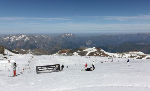 Les 2 Alpes glacier, France