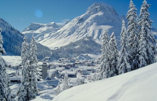 Lech / Zürs ski area, Austria - Photo: Lech / Zürs Tourismus