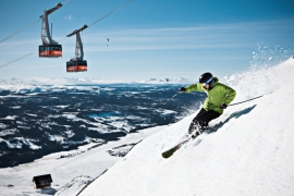 Åre ski area Sweden