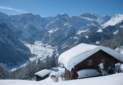 Braunwald ski area, Switzerland