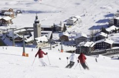 Lech Zürs ski area - Photo: Peter Mathis - Lech Zürs Tourismus