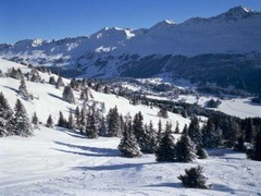 Lenzerheide / Valbella ski area, Switzerland - Photo: Photopress/TourismusVerein Lenzerheide
