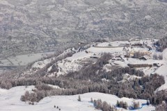 Pila ski area, Italy