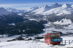 St Moritz Engadin ski area, Switzerland - Photo: swiss-image.ch/Christof Sonderegger