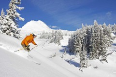Mount Hood Meadows ski area, Oregon, USA