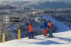 Silver Star ski area, British Columbia, Canada