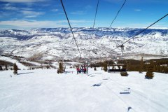 Snowmass ski area, Colorado, USA