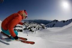 Squaw  Valley ski area, California, USA - Photo: Jeff Engerbretson