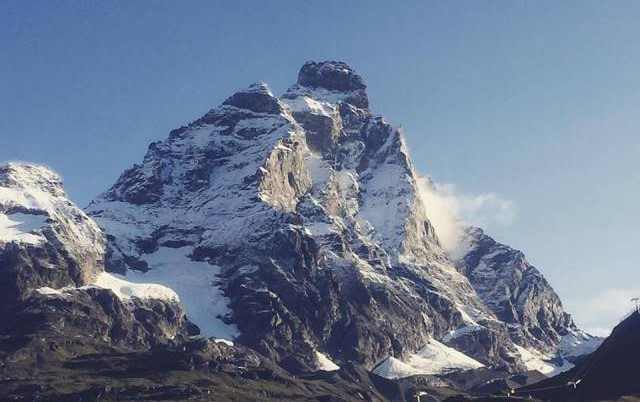 Matterhorn viewed from Cervinia, Italy