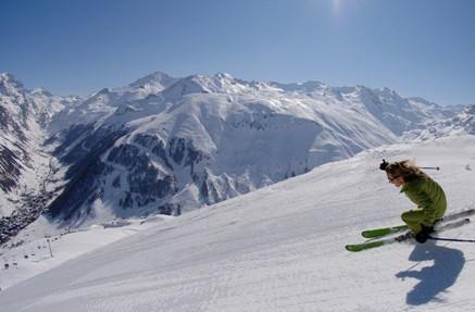 Val d'Isère / Tignes ski area, France - Top 10 snow-sure ski resorts, Europe