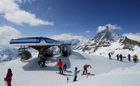 Cervinia ski area, Italy - Top 10 snow-sure ski resorts, Europe