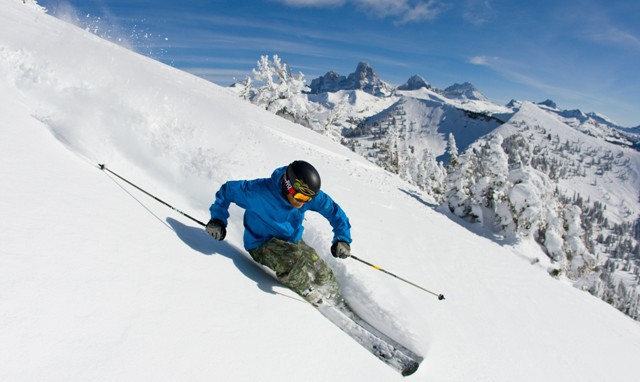 Grand Targhee ski area, Wyoming - Top 10 snow-sure ski resorts, North America
