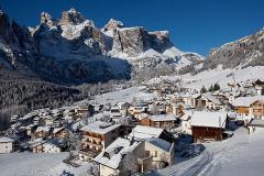 Colfosco ski area, Italy
