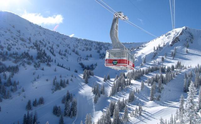 Alta and Snowbird ski area, Utah, USA - Top 10 snowiest ski resorts, North America