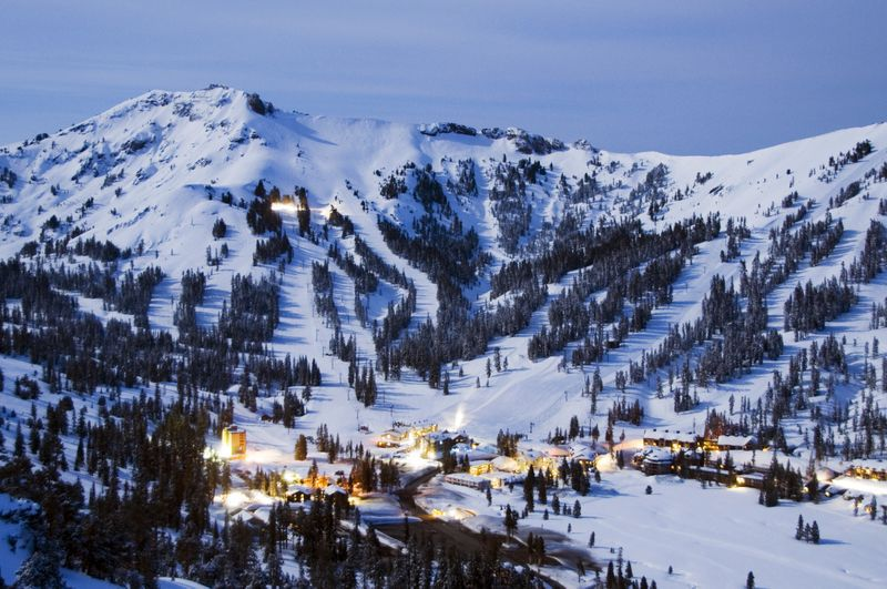 Kirkwood ski area, California, USA - Top 10 snowiest ski resorts, North America