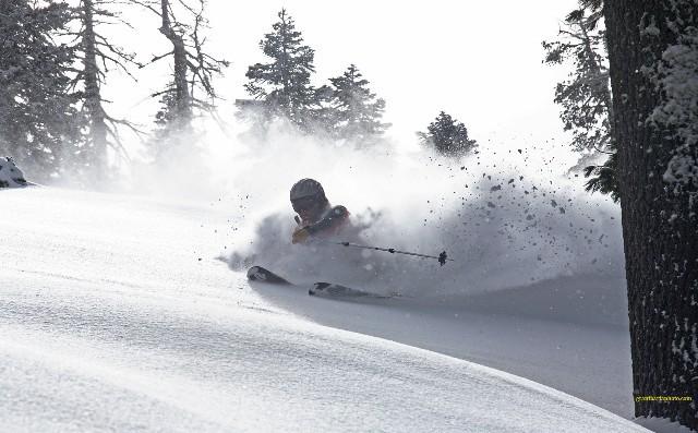 Sugar Bowl ski area, California, USA - Top 10 snowiest ski resorts, North America