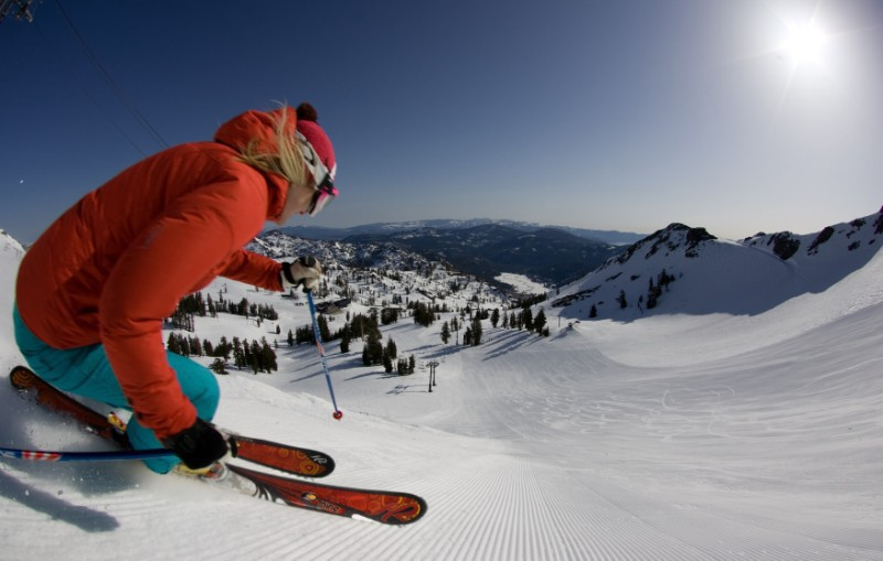 Squaw Valley, California, USA - Top 10 snowiest ski resorts, North America