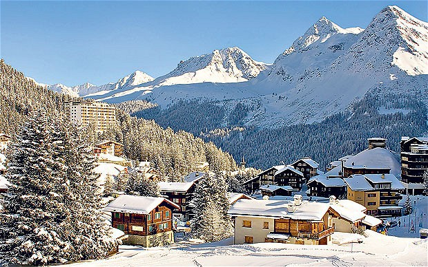 Arosa ski area, Switzerland - Top 10 snowiest ski resorts, Europe