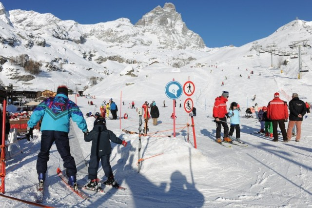 Cervinia nursery slopes, Italy - Top 10 snow-sure nursery slopes, Europe