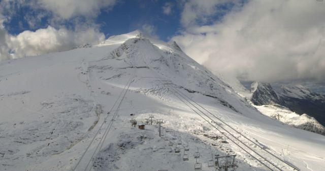 Grande Motte glacier, Tignes, France