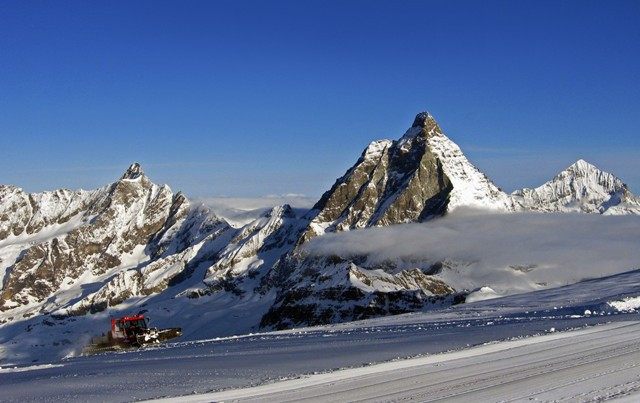 Cervinia, Italy - Top 5 places to ski in the Alps in July