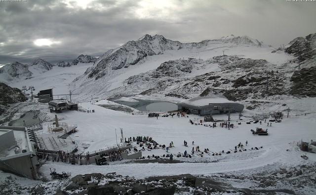 Pitztal glacier, Austria - 5 October 2015