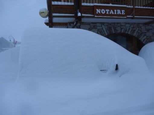 Val d'Isère, France - December 2012