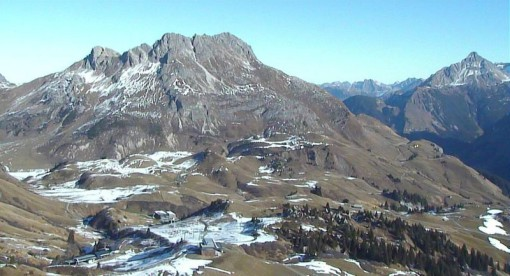 Lech, Austria - 20 November 2012
