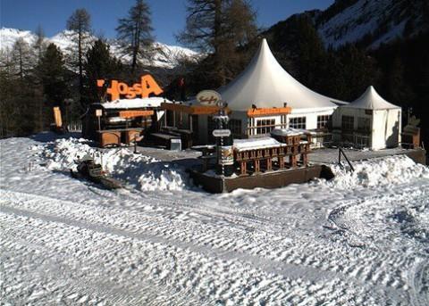 St Moritz, Switzerland - 20 November 2012