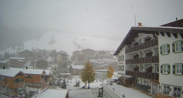 Lech, Austria - 19 October 2015