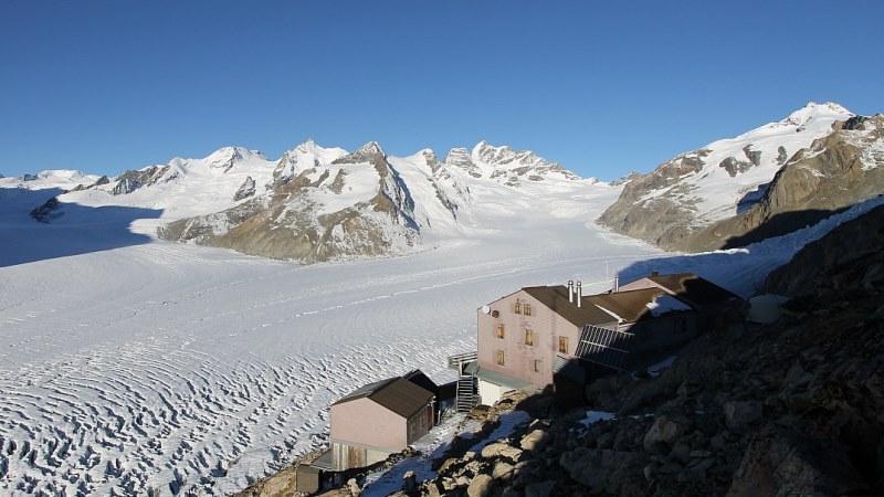 Aletsch glacier, Switzerland - 5 November 2015