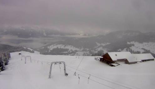 Villars, Switzerland - Weather to ski - Today in the Alps, 25 November 2015