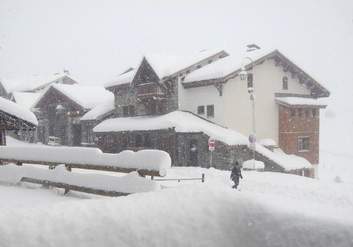 Val Thorens, France - Weather to ski - Today in the Alps, 26 November 2015