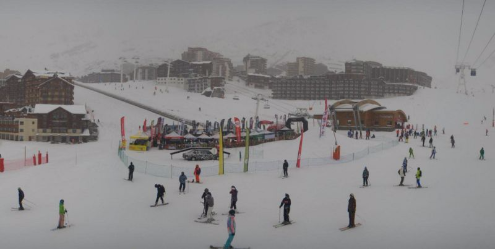 Val Thorens, France - Weather to ski - Today in the Alps, 28 November 2015