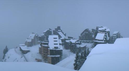 Avoriaz, France - Weather to ski - Today in the Alps, 29 November 2015