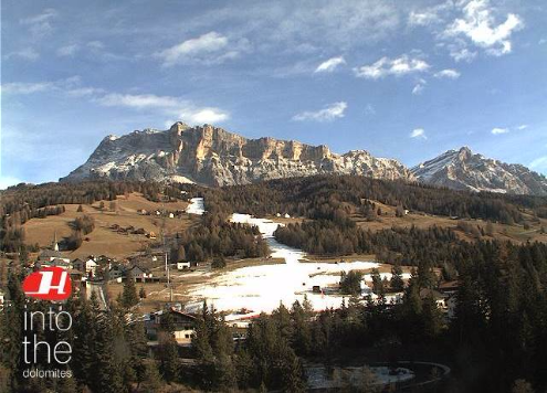 Alta Badia, Italy - Weather to ski - Season progress report, 30 November 2015