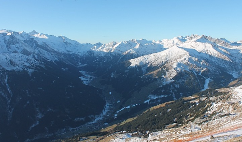 Tux valley, Austria - Weather to ski - Today in the Alps, 5 December 2015