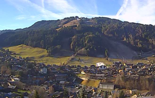 Morzine, France - Weather to ski - Today in the Alps, 22 December 2015