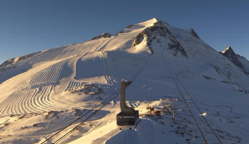Tignes, France - Weather to ski - Today in the Alps, 25 December 2015